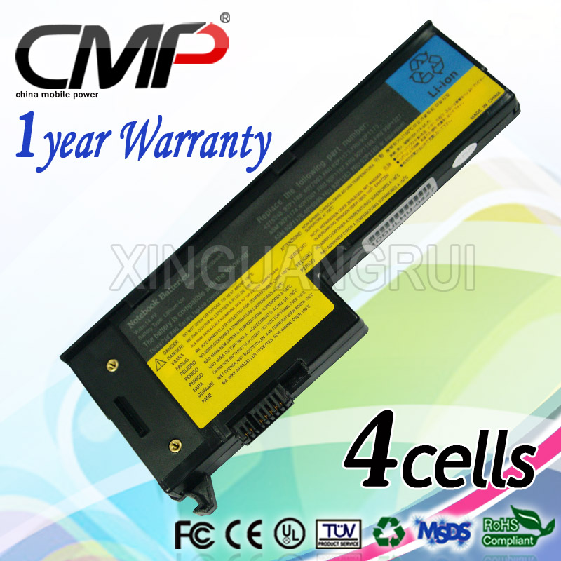 4cells Battery for Lenovo IBM ThinkPad X61 X61s X60 X60s 40Y7001 92P1167 92P1169 Laptop