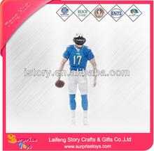 Customized super football team soccer player action figure