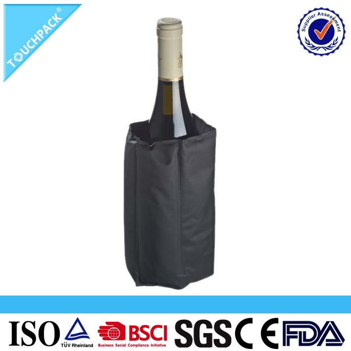 Individual Gel Wine Cooler / Bottle Cooler Wrap & Beer Can Cooer Wrap (manufacturer With Ce&FDA&msds&bsci)