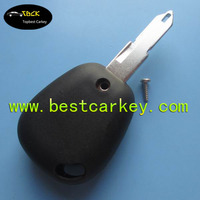 Topbest car key and remote key covers for Ren 1 button remote no logo car key covers