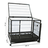 "36"" 42"" 48"" Heavy Duty metal square tube Dog kennels"