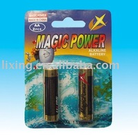 AA LR6 Majic Power 2/4pcs Blister card Alkaline Batteries