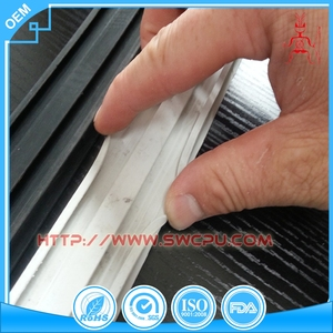 OEM epdm rubber extrusion with metal insert