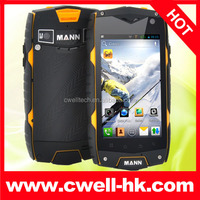 MANN ZUG 3 Snapdragon Quad Core Android Rugged Smartphone IP67 Waterproof Dual SIM Card WIFI GPS 8.0MP AF Camera 4.0 Inch IPS Sc
