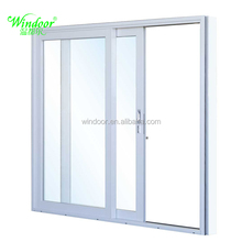 2016 New modern style china factory cheap price upvc/aluminum french door