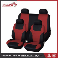 Full set front seat and rear car cover