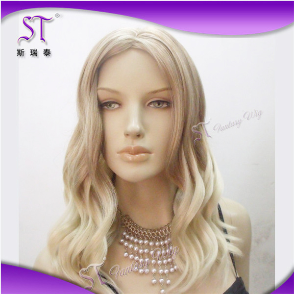 ombre synthetic hair wigs china wis factory