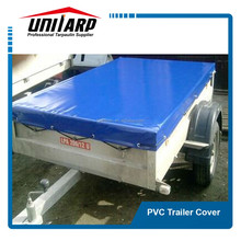 650gsm PVC trailer cover UV protection tarpaulin trailer cover