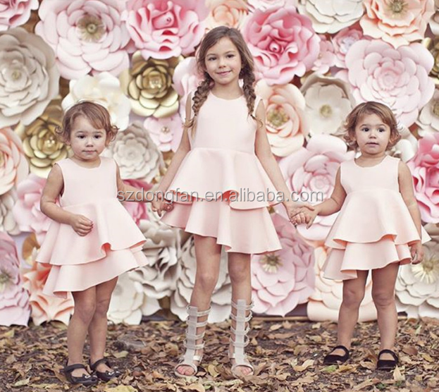 Girl Party Dress Baby Girl Dress Summer Knee-length Children Clothing Girl Child Dress Children Frocks Designs 2016