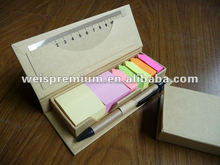 promotion cheap and popular eco-friendly memo pad holder