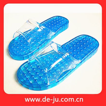 Crystal Massage Anti-skid Bottom Health Bath PVC Chappal