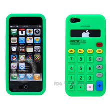 Calculator silicon mobile phone cover in China