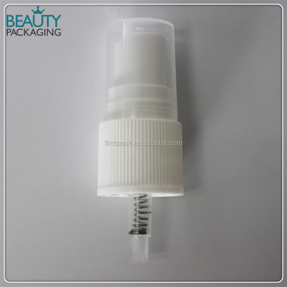 20415 white ribbed 0.12ml fine mist pump