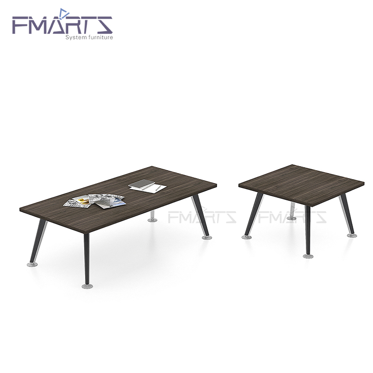 Manufacture European Style Ebony Office Furniture Wooden Coffee Table