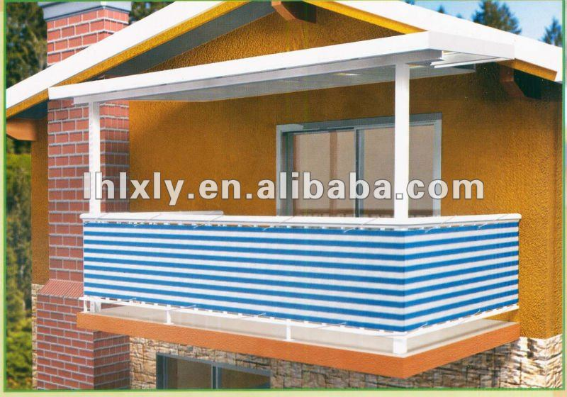 balkon zaun privatsph re decken balkon schutz sonnensegel bildschirm sonnenschutz zaun gitter. Black Bedroom Furniture Sets. Home Design Ideas