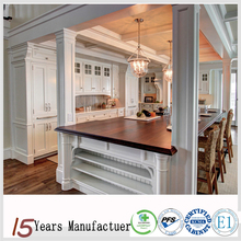 Flat Pack American Antique White Custom Kitchen Cabinet Design