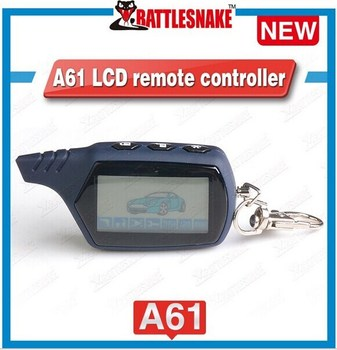 lcd pager A61 special for russian version 2 way car alarms