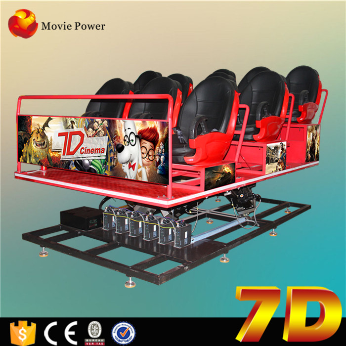 Motion Base 6 Dof 5d6d7d9d Cinema Sinulator 7d Simulator Package