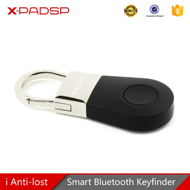 Hot sale metal Anti-Lost Alarm Smart Bluetooth Tracer with Remoter Shutter