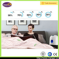 Continuously Working Portable Sample Equipment Oxygen Concentrator Breath Elderly Home Nursing Care