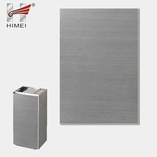 Price decorative sheet metal panels for trash can