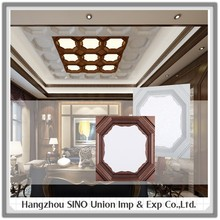 Suspended Aluminum design artistic ceiling tiles decorative