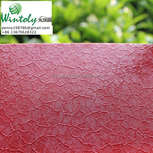 Red crackle texture electrostatic coating