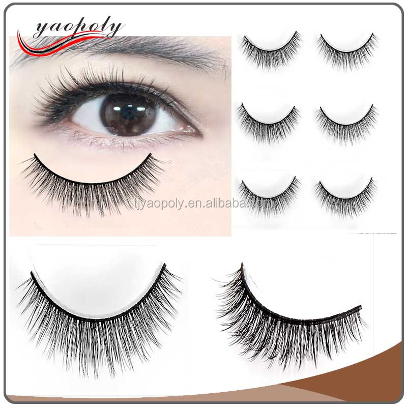 Chinese Wholesale High Quality Eyelash Extension Custom Eyelashes Packaging Waterproof False Eyelashes