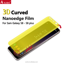 Nanoedge 3D Full Size Cover Automatic Repair For S8 Mobile Phone Screen Protector