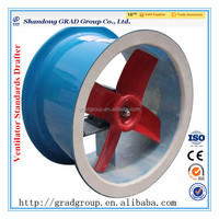 T35 series 220V 380V explosion proof low noise round large industrial axial fan