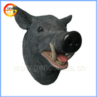 Wild boar head banquet hall wall home decoration