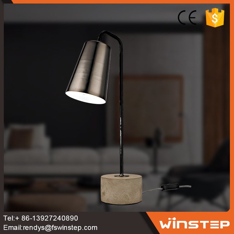 Made in China concrete table lamp for bar