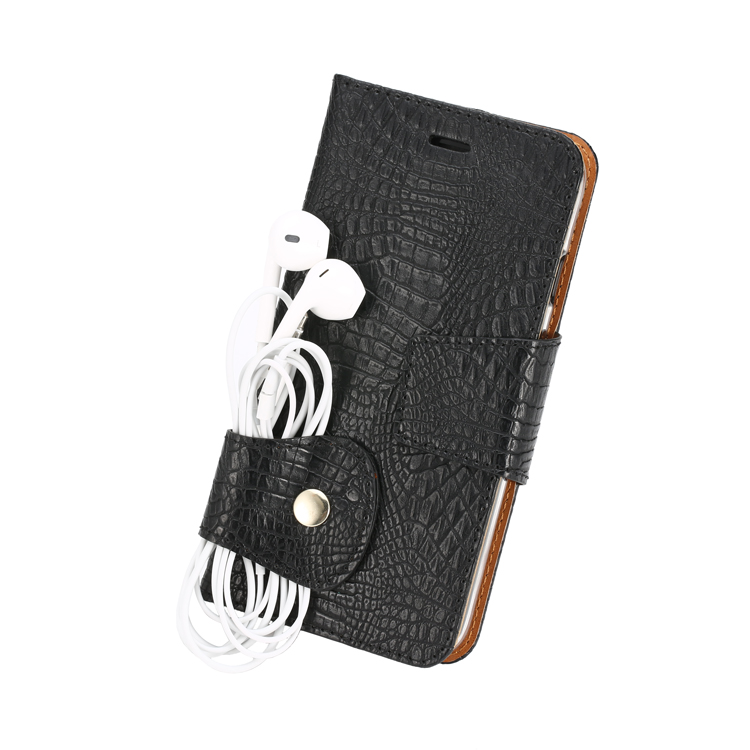 Good price personalized newest design crocodile patternr phone leather cases
