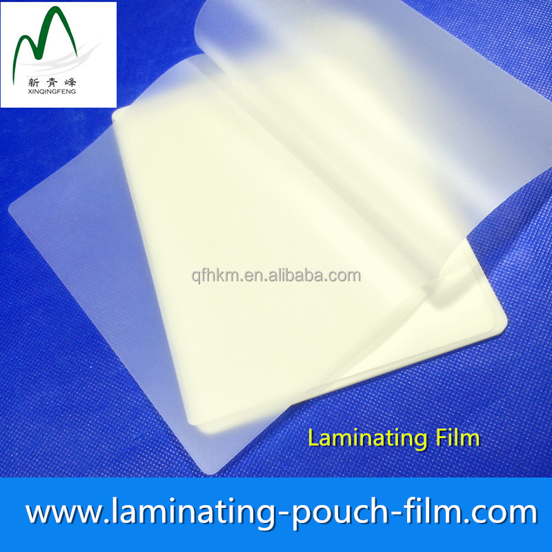 High Quality 75mic Korea Size 265*382mm Glossy Hot Heat Seal Laminating Pouch Film