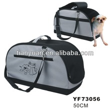 Durable water proof oxford fabric Dog Carrier pet travel bag