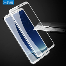 [X-level] wholesale mobile phone 3D HD Full Covered tempered glass screen protector for Galaxy S8 Plus