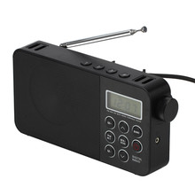 China wholesale portable outdoor am fm radio with LCD crystal screen