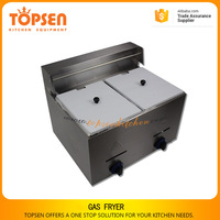 Hot selling stainless steel broasted chicken machine, french fries frying machine, commercial gas fryer thermostat control valve