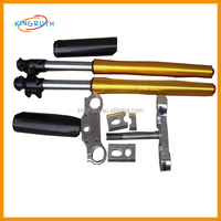 China manfacturer motorcycle front fork for Up -down front fork with Alloy steering parts