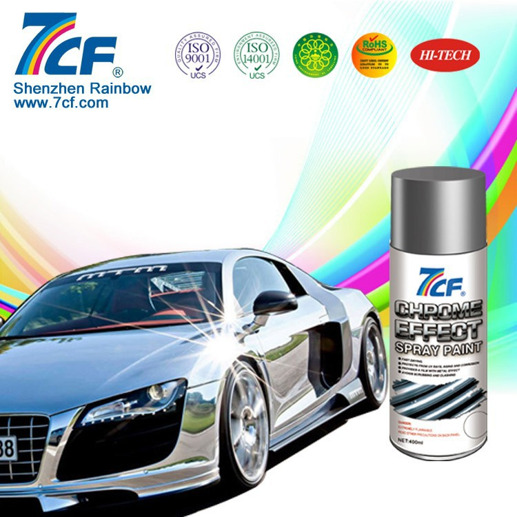 International F1 Liquid Chrome Aerosol Paint Spray
