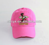 heat print logo types cartoon of Cotton Baseball children Cap