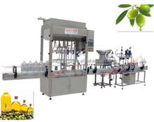 olive oil and essential oil bottle filling machinery production line