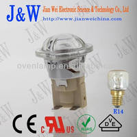 Convenient installation J&V E14 halogen replacement bulb for cooking lighting