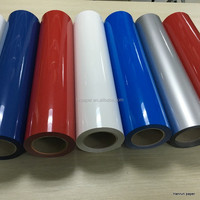 Glossy/Glitter PU Heat transfer vinyl rolls easy cut plotter for cotton fabric