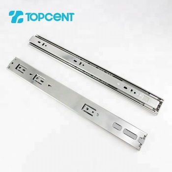 Cold-rolled steel european push to open touch open ball bearing cabinet drawer slide