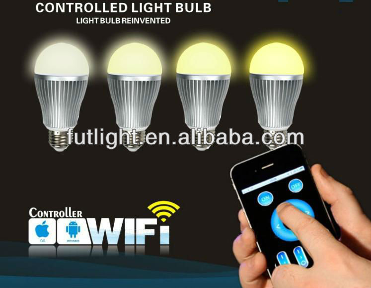 High power SMD 9w 6w India Price led bulb light,color change wifi led bulb,e27 b22 wholesale led bulb