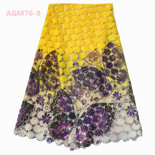 Fashion New Design Guipure Lace Trim/ Digital Printing Lace Fabric