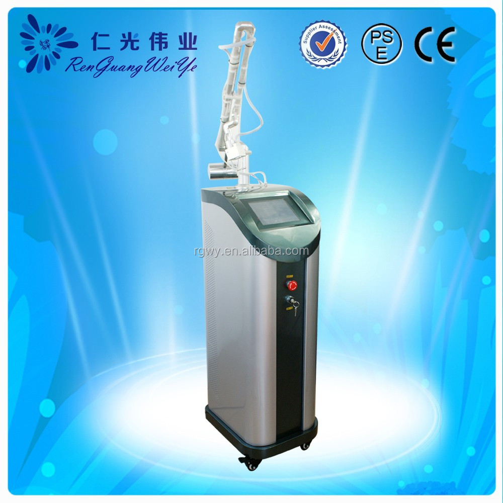 Professional CO2 Fractional acne removal machine For Skin Damage Repair