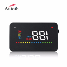 Modern design vehicle speed hud head up display With Good Service