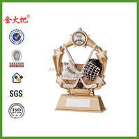 Resin Ice Hockey Starburst Trophy